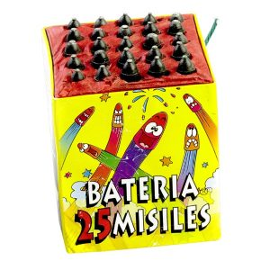 bateria 25 misiles